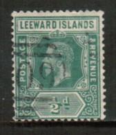 LEEWARD ISLANDS   Scott # 47 F-VF USED - Leeward  Islands