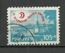 Turkey; 1959 15th International Conference Of Tuberculosis - Usados