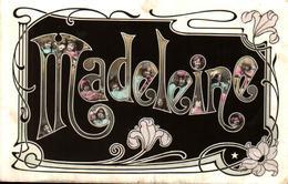 Prénom Madeleine - Photos Enfants Dans Les Lettres - Prénoms