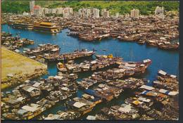 °°° 4057 - HONG KONG - BIRD'S EYE VIEW OF ABERDEEN °°° - Cina (Hong Kong)