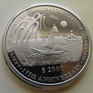 Guyana 2000 $ 2013 Sail Ship Immigration Unc - Guyana