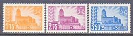 Finland 224-6    **  VIBORG  CASTLE - Unused Stamps