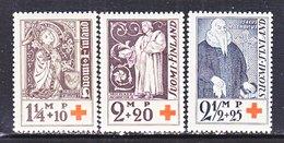 Finland  B 12-14   **  RED CROSS  RELIGION - Finland