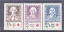 Finland B 18-20      **   RED CROSS - Unused Stamps