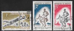 Benin(Dahomey) Scott # 173-5 Used Sports Friendship Games, 1963 - Bénin – Dahomey (1960-...)