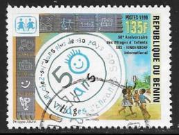 Benin(Dahomey) Scott # 1178 Used SOS Childrens Villages,1999 - Benin – Dahomey (1960-...)