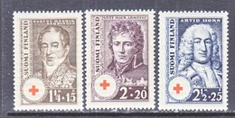 Finland  B 21-3   **  RED CROSS - Unused Stamps