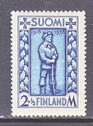 Finland  B 34   **   SOLDIER - Unused Stamps