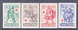 Finland  B 39-42     *   SOLDIERS  UNIFORMS - Unused Stamps