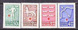 FINLAND  B 54-7  **  ARMS    RED  CROSS - Unused Stamps
