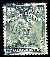 Rhodesia Scott 119 British South Africa Company Very Fine ((  CV 2.50 - Great Britain (former Colonies & Protectorates)