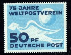 1949 75 Jahre Weltpostverein  MiNr 242  ** - DDR