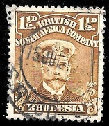 Rhodesia Scott 121 British South Africa Company Very Fine CV 2.50 - Great Britain (former Colonies & Protectorates)