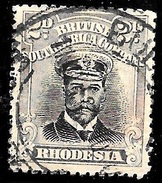 Rhodesia Scott 122 British South Africa Company Very Fine  (( CV 9.00 - Great Britain (former Colonies & Protectorates)