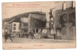88 - Raon-l'Etape . Incendié Volontairement Par Les Allemands . Rue Jules Ferry - Réf. N°1762 - - Raon L'Etape