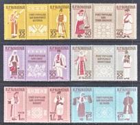 ROMANIA 1240-5  *  FOLK  COSTUMES - 1948-.... Republics