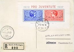 SWITZERLAND  B 89   (o)  CHRISTMAS TYPE  CARD - Pro Juventute