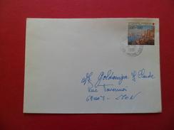 Lettre Circulée De Saint Pierre De Chandieu Le 21/10/1991 AVANT LE PREMIER JOUR (30/11/1991) Du N°2733 Croix Rouge   TB - Abarten Und Kuriositäten