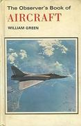 THE OBSERVER'S BOOK OF AIRCRAFT By Green, William (ISBN 9780723215912) - Books, Magazines, Comics
