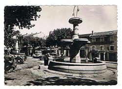 CPSM 05 LARAGNE La Place Centrale - Andere Gemeenten