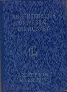 Langenscheidt's Universal Dictionary: French-English English-French By Langenscheidt - Dictionaries