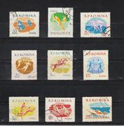 1959 - Sports  Mi No 1802/1810 Et Yv No 1643/1650+P.A. 103 - 1948-.... Republiken