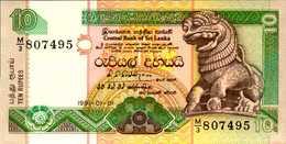 SRI LANKA  10 ROUPIES Du 1-1-1991  Pick 102  UNC/NEUF - Sri Lanka