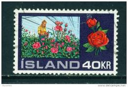 ICELAND - 1972 Hot House Cultivation 40k Used (stock Scan) - Used Stamps