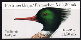 Finlande Carnet N** (Yv:C1189) Yv:10 Euro Vesilintuja Sjöfaglar Oiseaux - Canard -