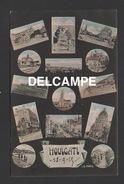 DD / 14 CALVADOS / HOULGATE / CARTE MULTIVUES / CIRCULÉE EN 1915