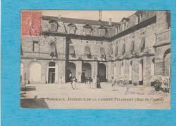Bordeaux. - Intérieur De La Caserne Pelleport ( Rue De Cursol ).