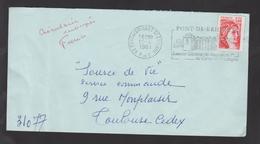 Flamme Dpt 62 : PONT DE BRIQUES ST ETIENNE (SCOTEM N°  3775 émise Le 26/05/1975) : Quartier Général De Napoléon