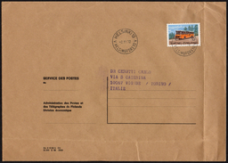 FINLAND HELSINKI 1972 - MAILED ENVELOPE - NEW DAILY STAMP: BUS - Bus