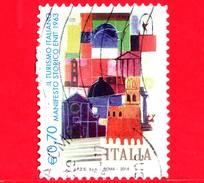 ITALIA - Usato - 2014 - Turismo - Manifesto Storico ENIT Del 1963 - 0,70 - 6. 1946-.. Republik