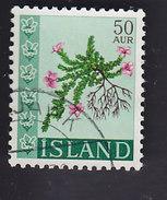 Islande: Fleurs De Montagnes. Saxifraga Oppositifolia 370 - 1944-... Republik