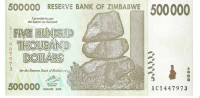 Zimbabwe - Pick 76 - 500.000 Dollars 2008 - Unc - Zimbabwe