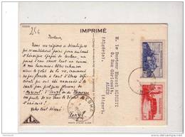 FEZZAN - 1955 - CARTE POSTALE MEDICALE De SEBHA Pour LYON - Fezzan (1943-1951)