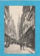 Saint-Malo. - La Grande Rue. - La Cathédrale. - Boulangerie. - Café-Restaurant. - Saint Malo
