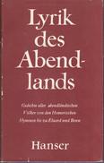 Lyrik Des Abendlands By Britting, Georg - Books, Magazines, Comics