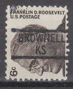 USA Precancel Vorausentwertung Preos Locals Kansas, Brownell 839
