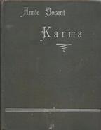 Karma By Besant, Annie - Books, Magazines, Comics