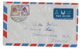LYBIE - 1956 - ENVELOPPE AIRMAIL De BENGHASI => JUAN LES PINS - Libye