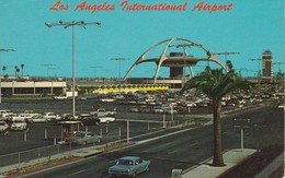 CPA  ETATS-UNIS- POST CARD UNITED STATES - LOS ANGELES  - AIRPORT - Los Angeles