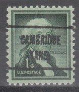 USA Precancel Vorausentwertung Preos Locals Kansas, Cambridge 723