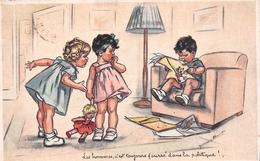 """¤¤  -  Illustrateur """" Germaine BOURET """"  -  Petit Garçon Et Petites Filles   -  ¤¤ - Bouret, Germaine"""