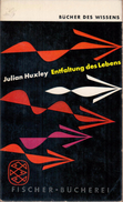 Entfaltung Des Lebens By Huxley, Julian - Old Books