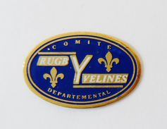 Pin´s Comité Départemental Rugby Yvelines - Pin's