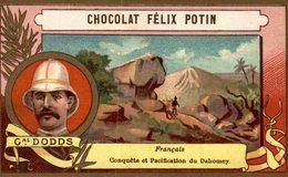 CHROMO CHOCOLAT FELIX POTIN EXPLORATEUR FRANCE GENERAL DODDS DAHOMEY ETS HEROLD - Chocolate