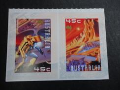 AUSTRALIE 2000 YT 1878/79 ** VISION VIE MARS