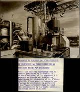 PHOTO - Photo De Presse - MARCOULE - Gard - Usine Atomique - Plutonium - 1958 - Lieux